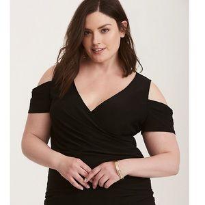 torrid cold shoulder top size 2x women
